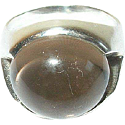 Vintage Sterling Modernist Ring