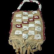 Vintage Native American Beaded Bag
