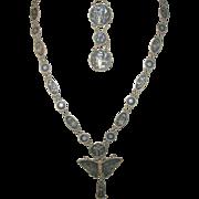 Vintage Necklace/Bracelet Set Japanese