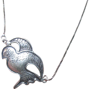 Vintage Sterling Necklace Pendant