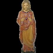 Vintage Wooden Santo