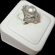 Art Nouveau Sterling Ring