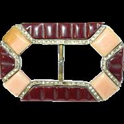 Vintage Belt Buckle 1930's