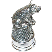 Vintage Sterling Thimble