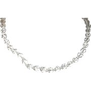 Vintage Necklace Czechoslovakian Crystal Beads
