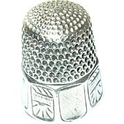 Vintage Thimble Sterling