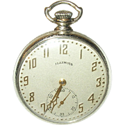 Vintage Pocket Watch by Illinois Watch Co