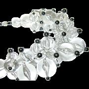 Vintage Necklace Runway Design Large Lucite Beads