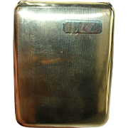 Vintage Cigarette Case 14K Gold Shell by Elgin