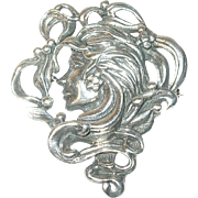 Vintage Brooch Sterling