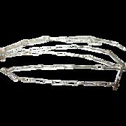 Vintage Necklace Sterling Links