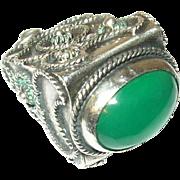Antique Fob Pendant 800 Coin Silver