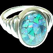 Vintage Ring Sterling Cabana