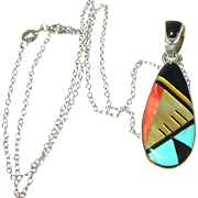 Vintage Necklace Pendant by Philipines