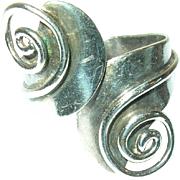 Vintage Ring Sterling Taxco by A. Cazares