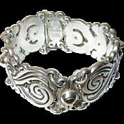 Vintage Bracelet Taxco Sterling By Rafael Melendez