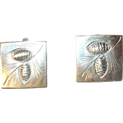 Vintage Sterling Cuff Links by Nye
