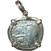 Antique Spanish Reale Pendant