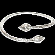 Vintage Bracelet Sterling Chased Design