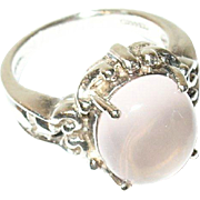 Vintage Ring Sterling Moonstone