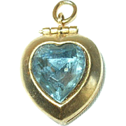 Vintage Gold Filled Locket Charm
