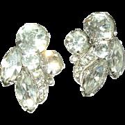 Vintage Earrings Eisenberg Ice