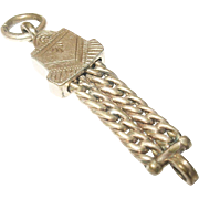 Vintage Rolled Gold Watch Fob Link