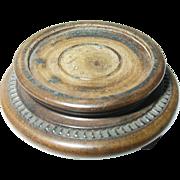 Antique Treenware Miniature Stand