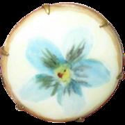 Vintage Limoges Brooch Forget-Me-Not