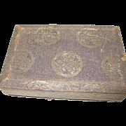 Antique Oriental Souvenir Photo Book