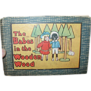 The Babes in the Wooden Wood Minature Book