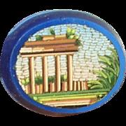 Vintage Miniature Micro Mosaic Plaque