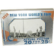 New York World's Fair 1939 20 Actual Photos