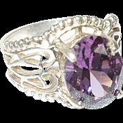 Vintage Ring Sterling Openwork