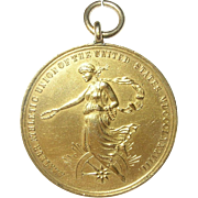 Vintage Medal Amateur Athletic Union of the United States 1912