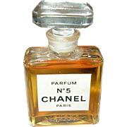 Vintage Chanel No. 5 Miniature Perfume