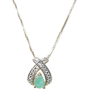 Vintage Sterling & Vermeil Necklace & Pendant