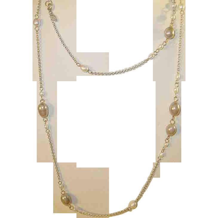 Vintage Sterling Necklace 114