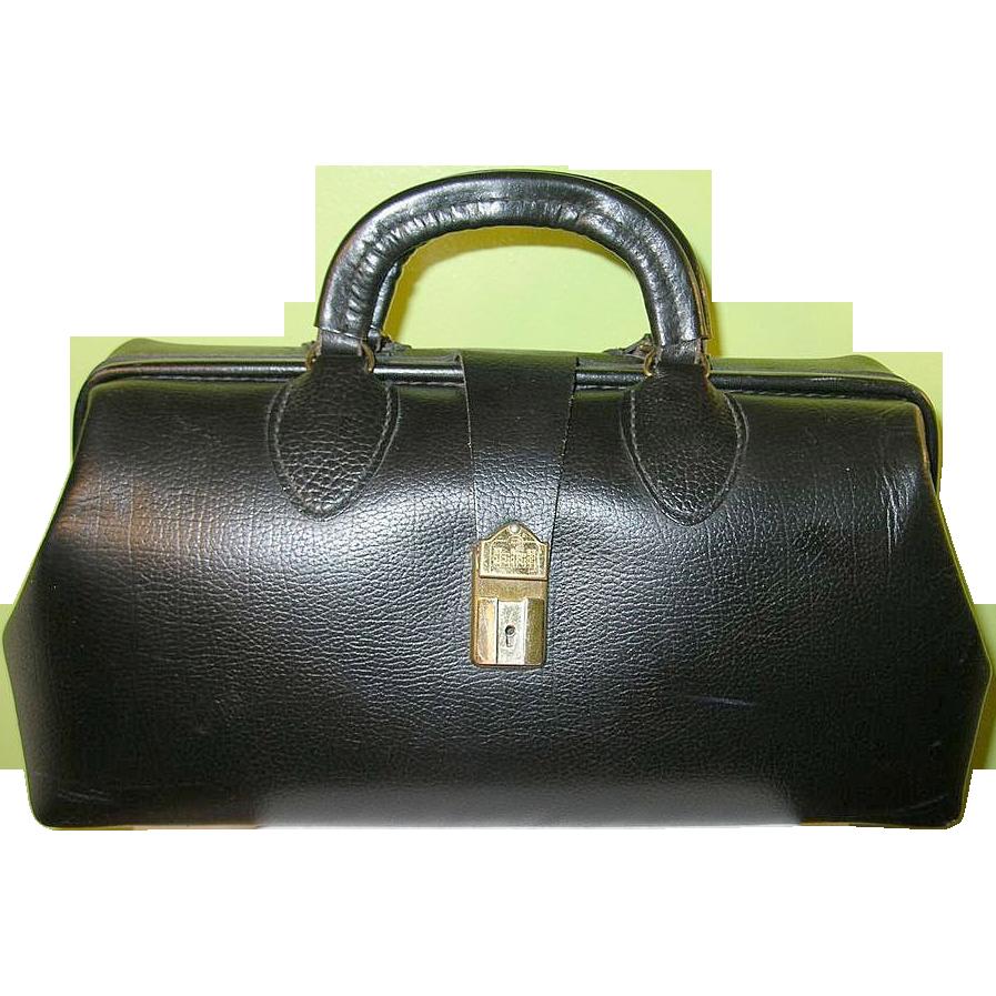 Vintage Leather Doctor S Bag Sold On Ruby Lane