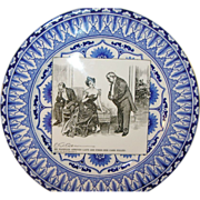 Vintage Royal Doulton Gibson Girl Plate