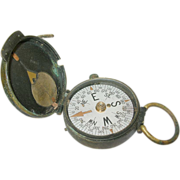 Vintage WW I Compass U.S. Engineer Corps by Cruchon & Eamons