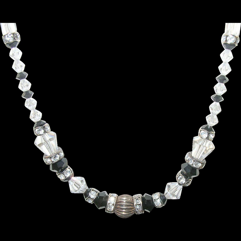 Vintage Bead Necklace 45