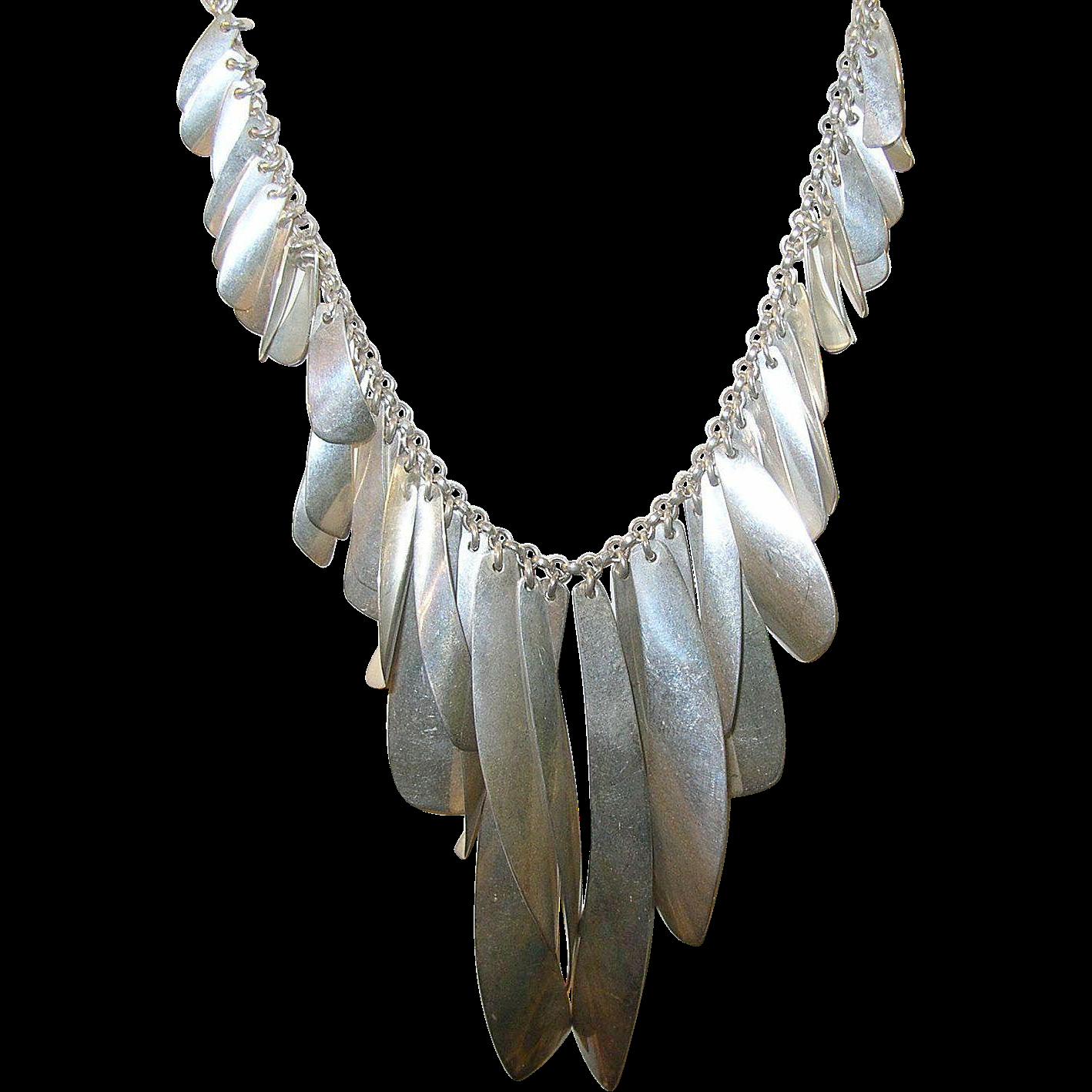 Vintage Sterling Necklace 100