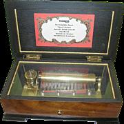 Vintage Thorens Swiss Music Box 6 Songs - Red Tag Sale Item