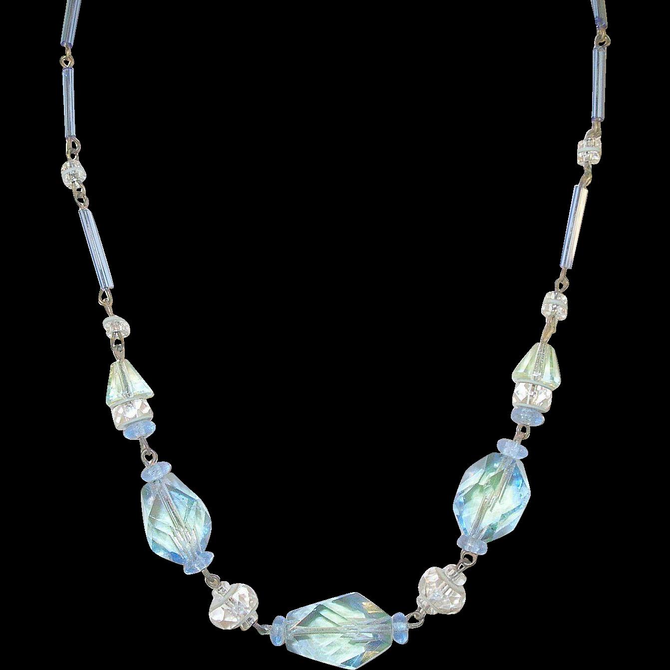 Vintage Bead Necklace 78