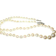 Vintage Culture Pearl Necklace
