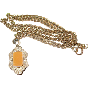 Victorian Gold Filled Necklace