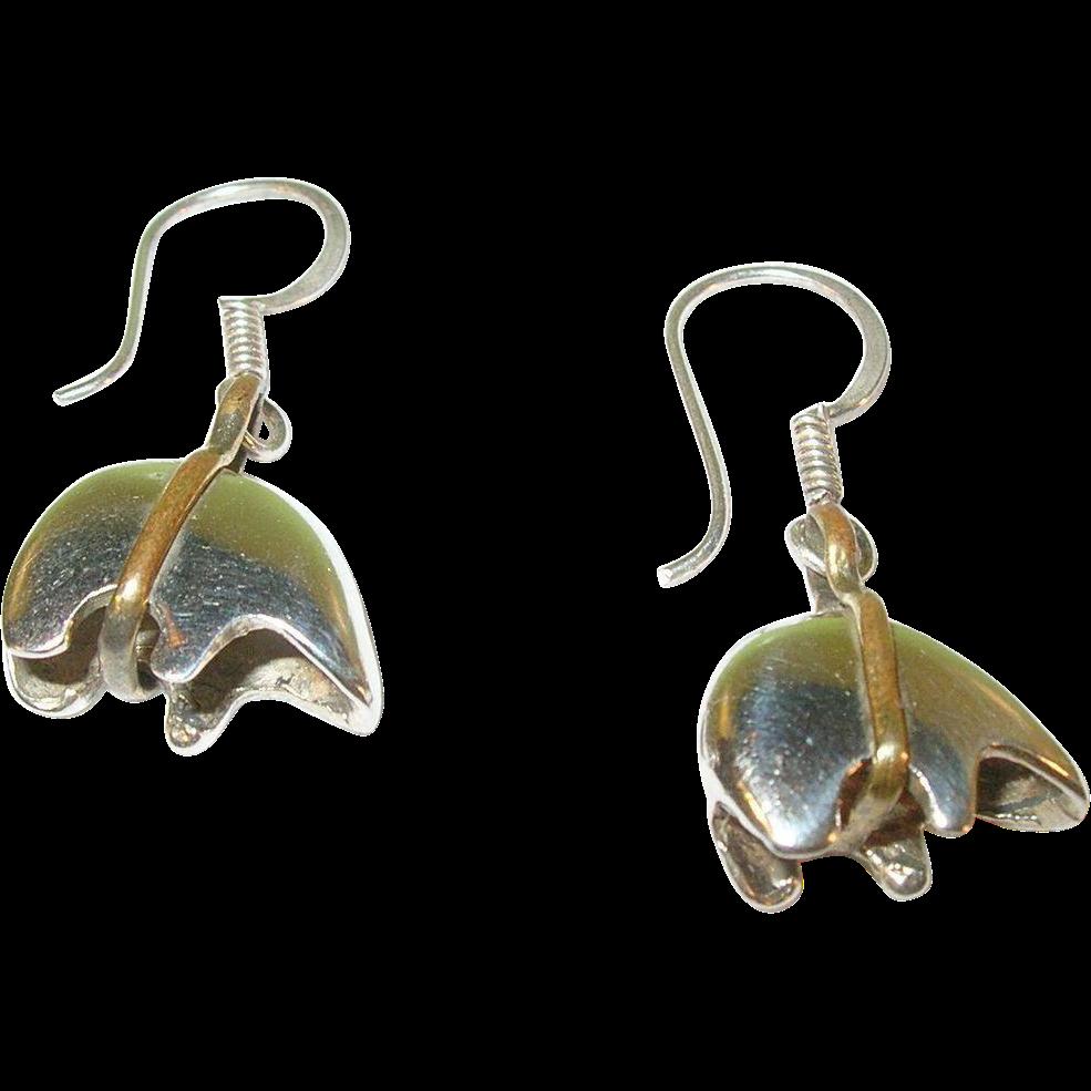 Silver Vintage Earrings 81