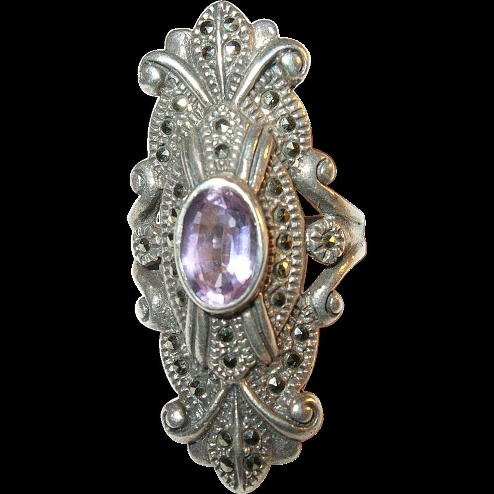 Vintage Marcasite Rings 80