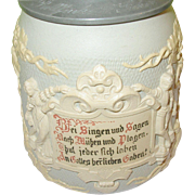 Mettlach Stein Villeroy Boch No. 1370